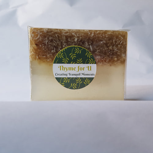 Honey and Oatmeal Handmade Soap - Thyme for U