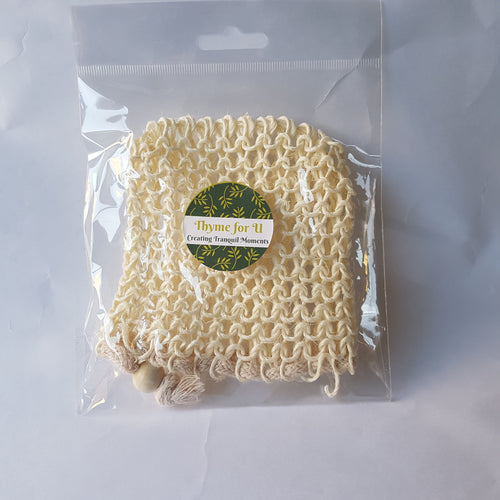 All natural sisal soap bag - Thyme for U