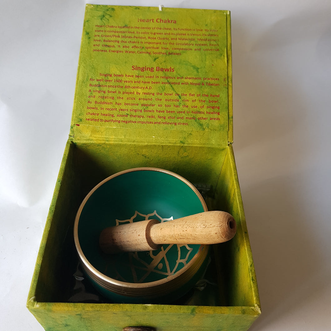 Heart Chakra Singing Bowl - Thyme for U