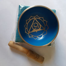 Load image into Gallery viewer, Throat Chakra Singing Bowl - Thyme for U