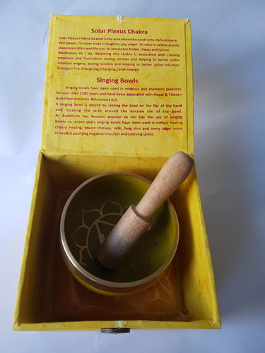 Solar Plexus Chakra Singing Bowl - Thyme for U