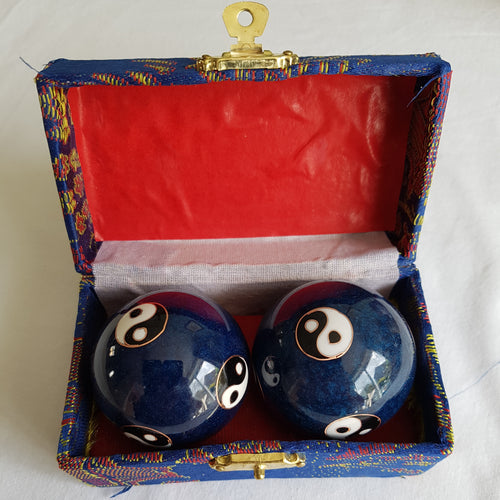 Blue chiming stress balls - Thyme for U