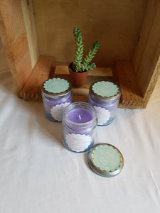 Magic mermaid candle in a jar - Thyme for U
