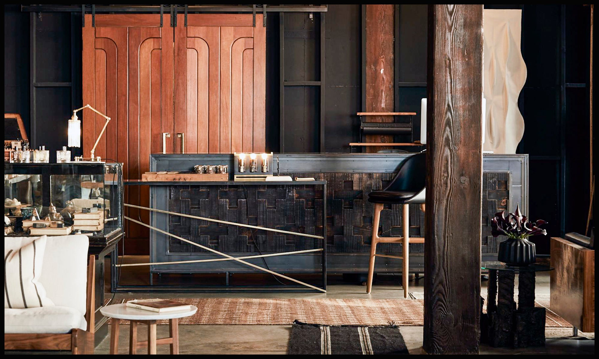 hammer and spear launched in 2013 as a showroom and full service multidisciplinary design studio comprised of a team of interior designers architects - Full Service Interior Design