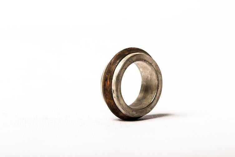 Rotator Ring with Burnt Brass