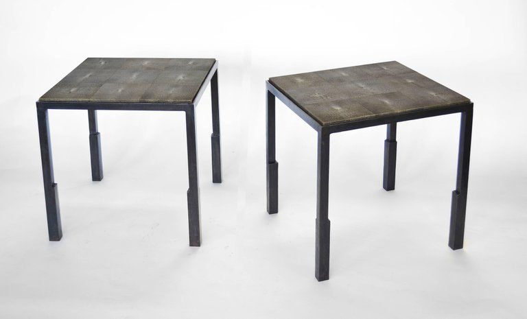 Table No. 9 - with shagreen or parchment