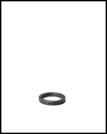 4-Hole Sistema Ring in Black Silver