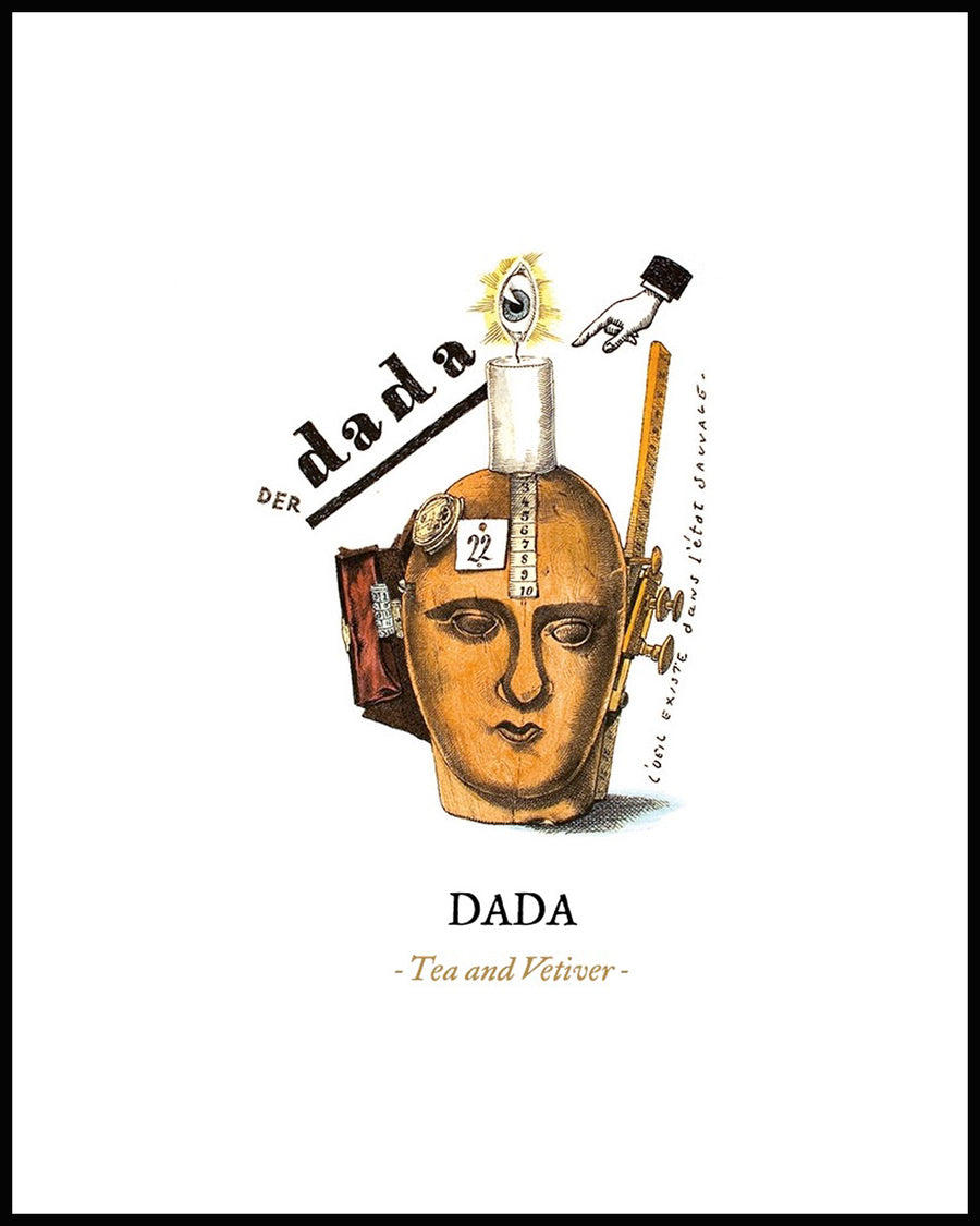 DADA Candle (Tea and Vetiver)