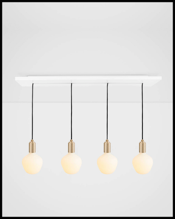 Porcelain Collection Linear Ceiling Light