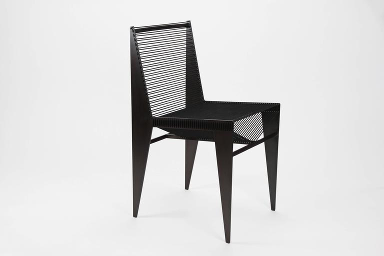 The Icon Chair in Steel and Rope