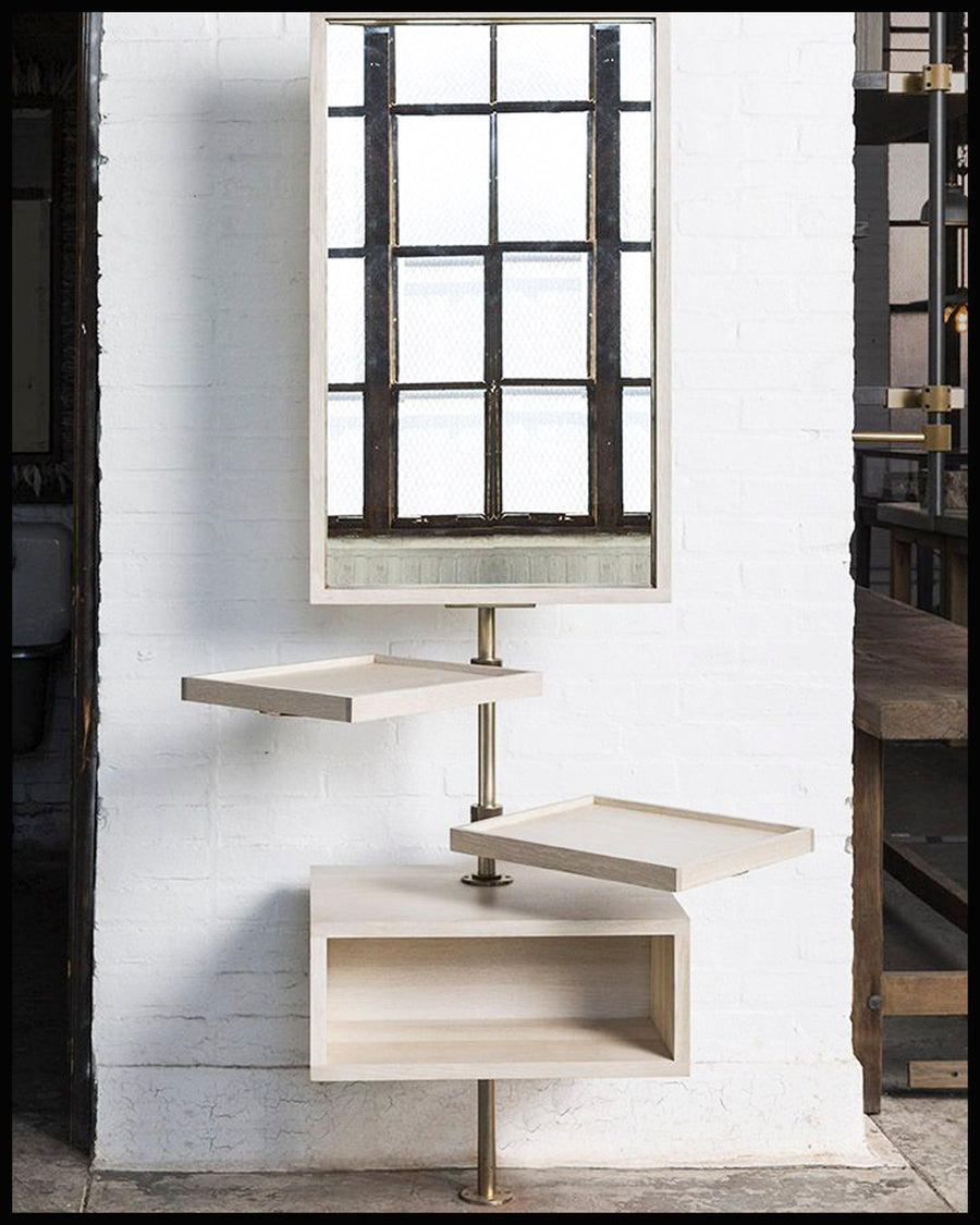 Loft Single Post Unit with Mirror