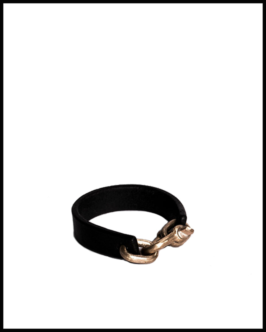 Leather Restraint Charm Band