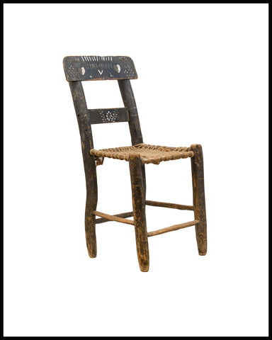 ANTIQUE NORTH MEXICAN CHAIR