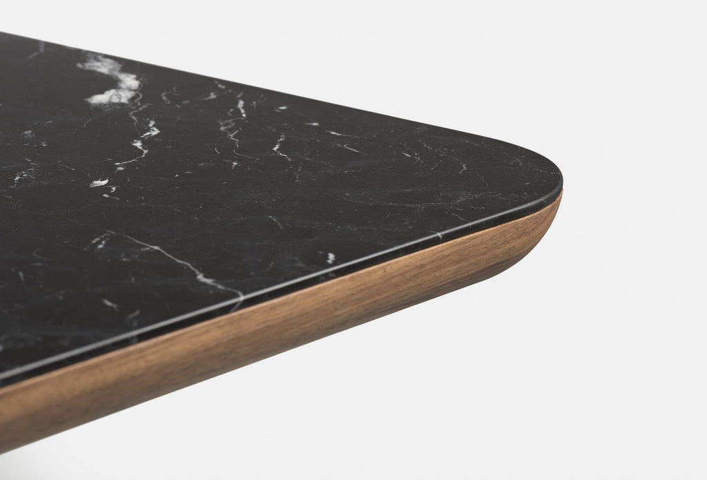 Marlon Rectangular Table With Marble Top