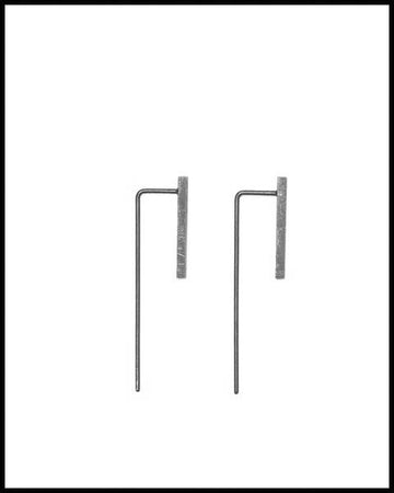 Minimalist Industrial Earrings
