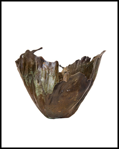 """Vessel"" Bronze sculpture by Kristan Marvell"