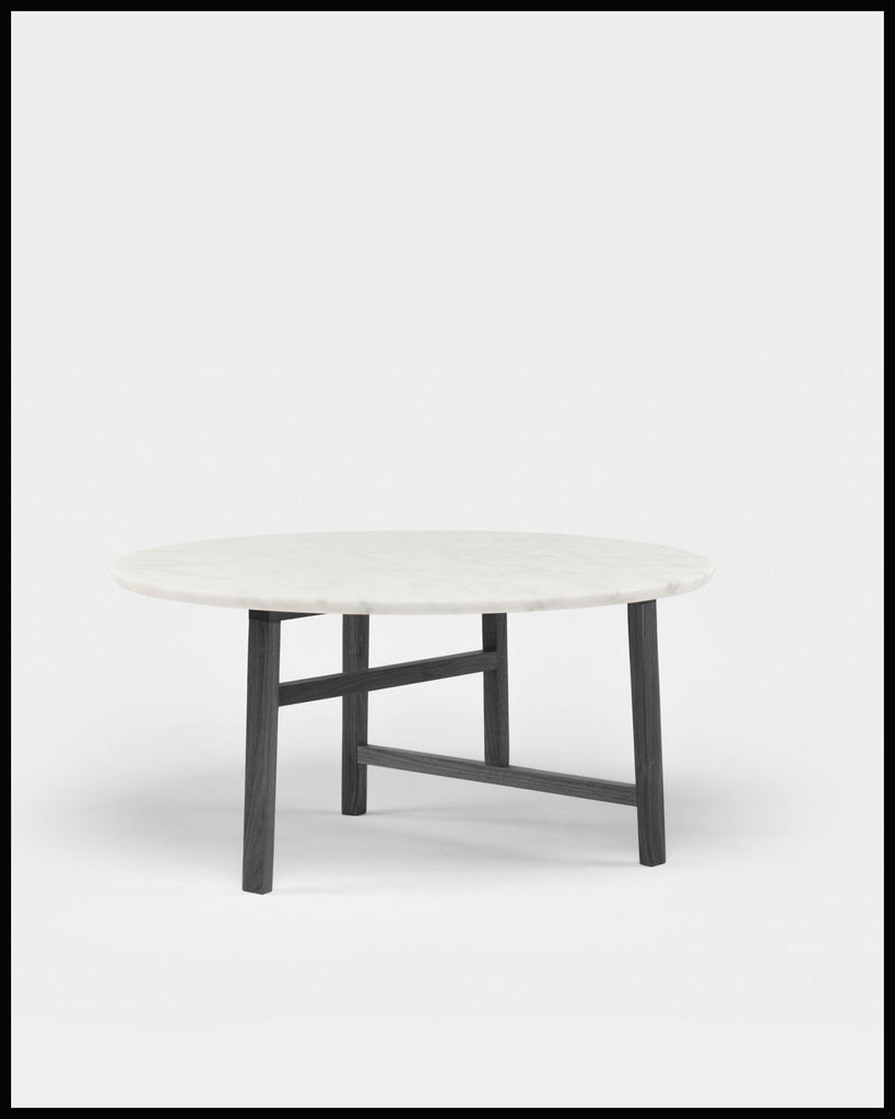 Floor Sample: Trio Round Coffee Table with Marble Top