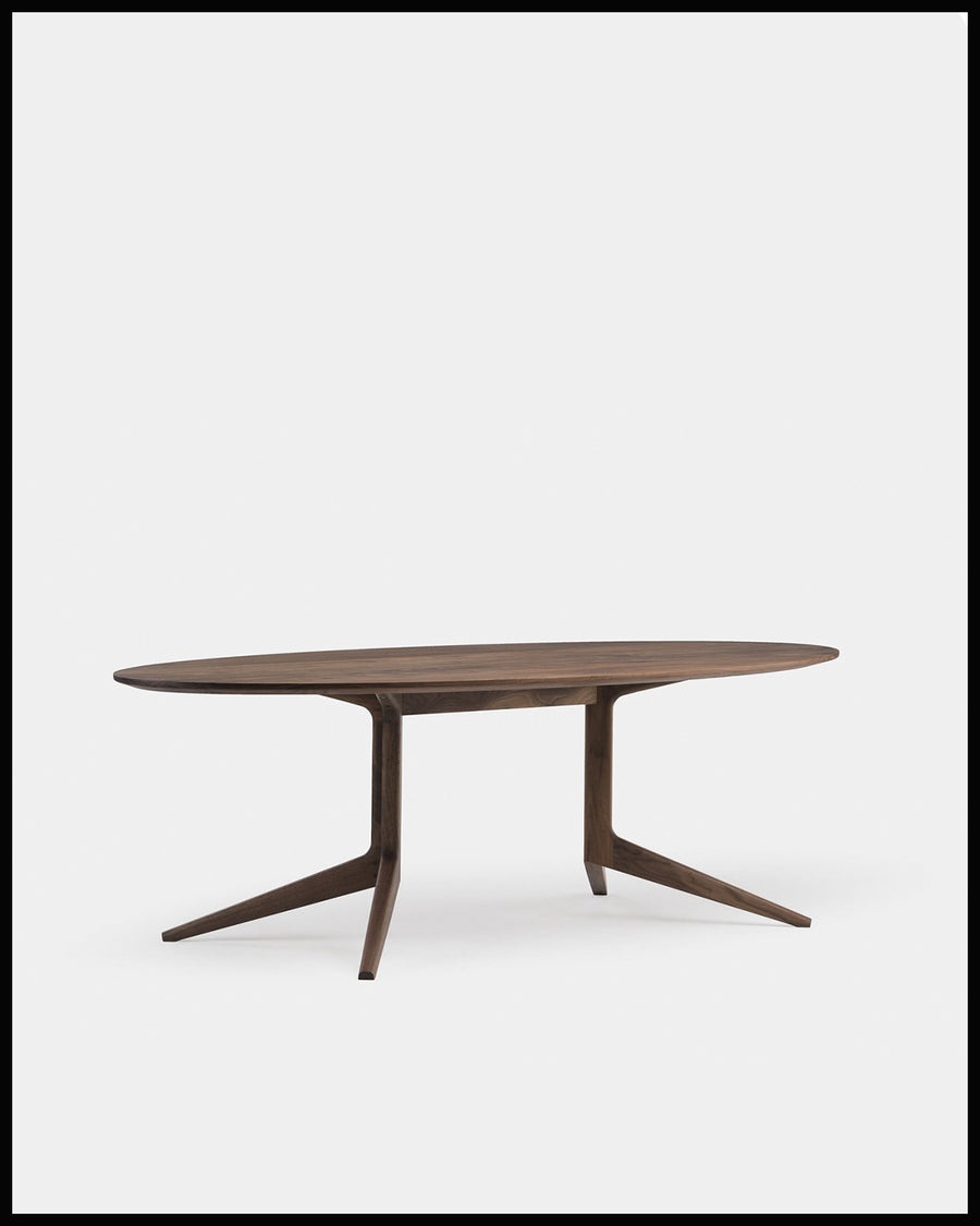 Light Oval Table - Fixed