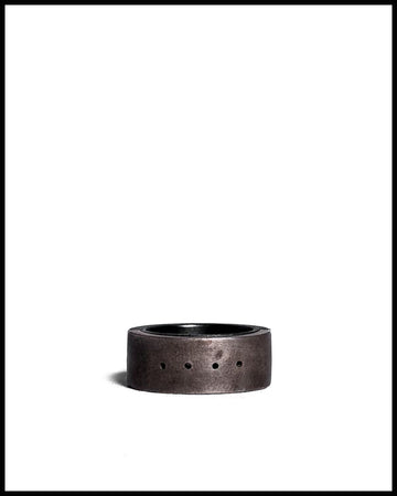 Sistema Ring (4-hole) in Acid Treated Silver