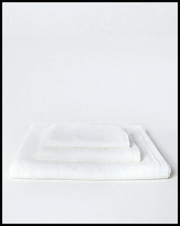 Gauze Towel in White