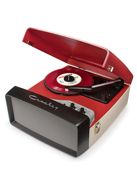 Ajax Portable Red USB Suitcase Turntable