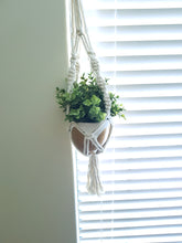Load image into Gallery viewer, Macrame pot holder | Twisted