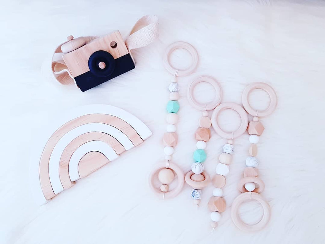 Beaded Baby Gym Toys | Rings