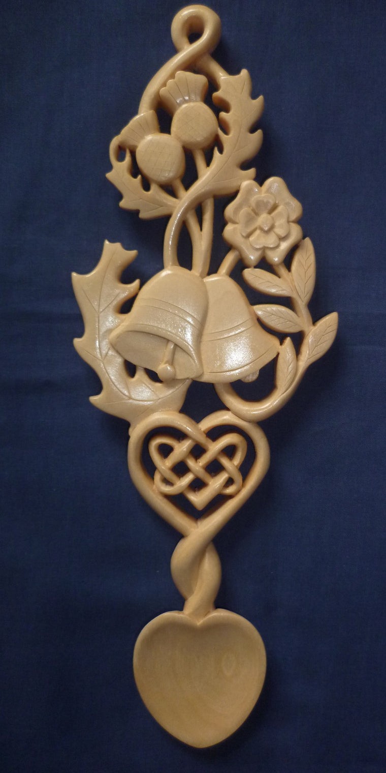 Scottish wedding Love spoon