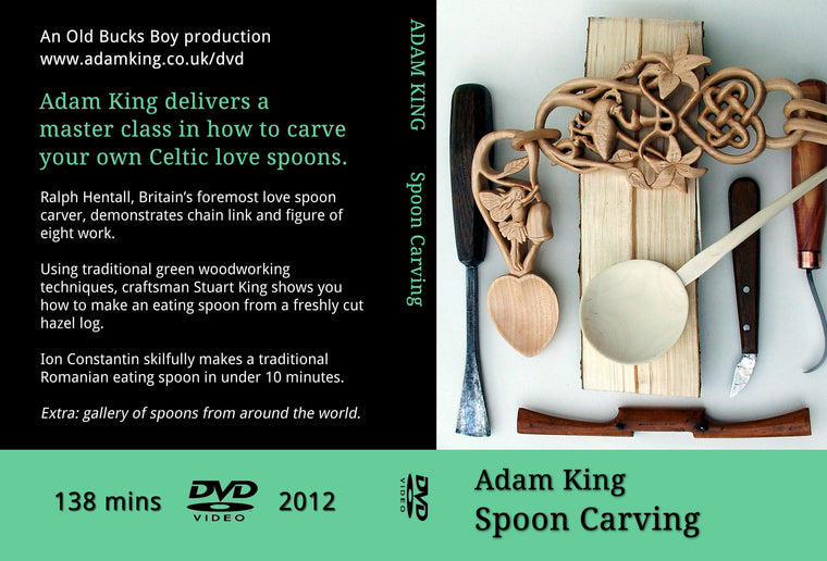 Spoon carving DVD (SALE 25% off, was £20)