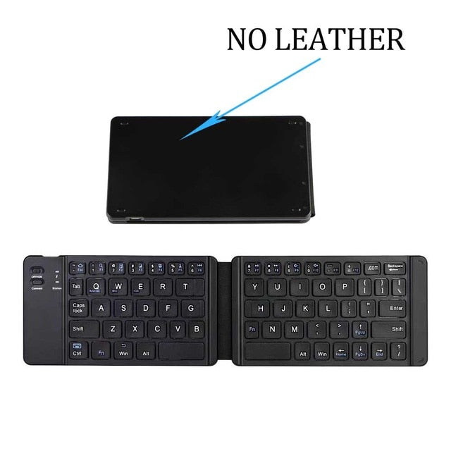 Portable Bluetooth Wireless Folding Mini Keyboard for iOS,Android, Tablet,  iPad, Phone