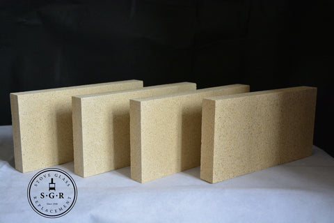 Vermiculite Stove Bricks Cut To Size - 20mm and 25mm Thick