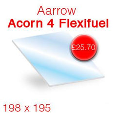 Aarrow Acorn 4 Flexifuel replacement stove glass