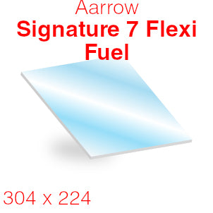 Aarrow Signature 7 Flexi Fuel Stove Glass - 304mm x 224mm (curved)