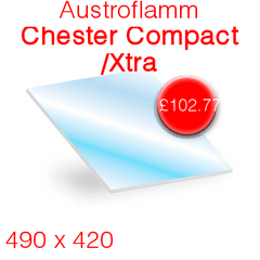 Austroflamm Chester Compact/ Xtra Stove Glass