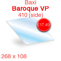 Baxi Baroque VP 410 (side) replacement stove glass