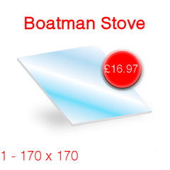 Boatman Stove Glass