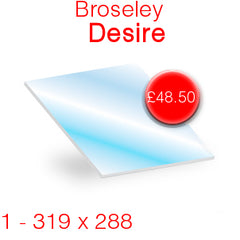 Broseley Desire Stove Glass