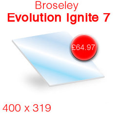 Broseley Fires Evolution Ignite 7 stove glass