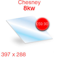 Chesney 8kw replacement stove glass