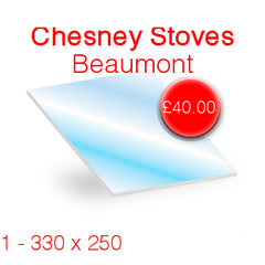 Chesney Stoves Beaumont Stove Glass