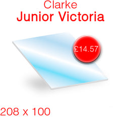 Clarke Junior Victoria Stove Glass