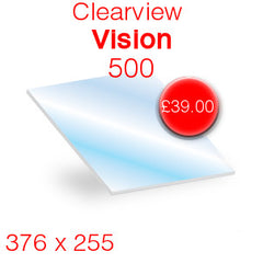 Clearview Vision 500 replacement stove glass