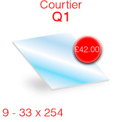 Courtier Q1 (Set of 9) Stove Glass