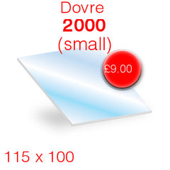 Dovre 2000 stove glass