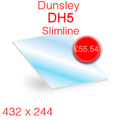 Dunsley DH5 Slimline Stove Glass