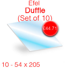 Efel Duffle (Set of 10) Stove Glass