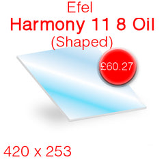 Efel Harmony 11 8 Oil (Shaped) Stove Glass