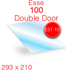 Esse 100 Double Door Stove Glass