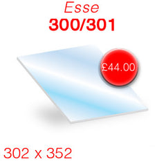 Esse 300 301 replacement stove glass