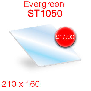 Evergreen ST1050 Stove Glass - 210mm x 160mm